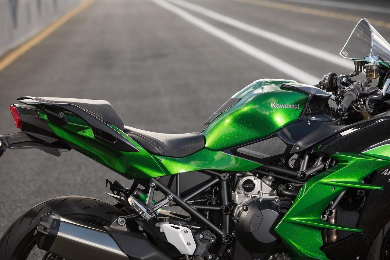 Kawasaki H2 Sx Quickly At Full Blast Riser Biker Journal