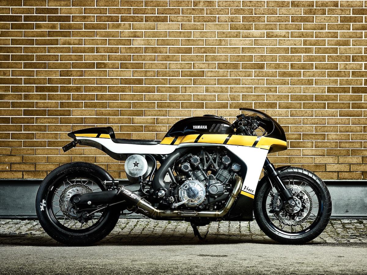 GALLERY: YAMAHA YARD BUILT – VMAX 'CS_07 Gasoline' - RISER | Biker