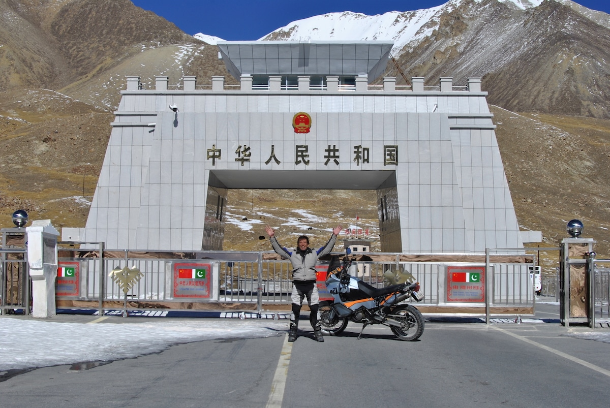 Riser khunjerab pass border china